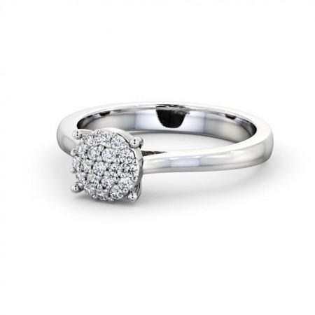 Adaline แหวนเพชรล้อม แหวนเพชรผู้หญิง