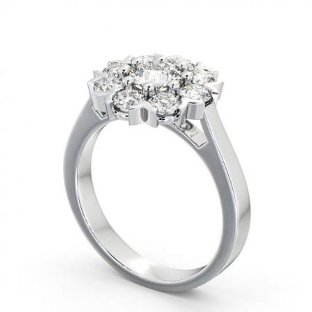 Makayla แหวนเพชรล้อม แหวนเพชรผู้หญิง
