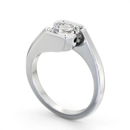 Adalyn (Asscher) แหวนแต่งงาน แหวนเพชรเม็ดเดี่ยว