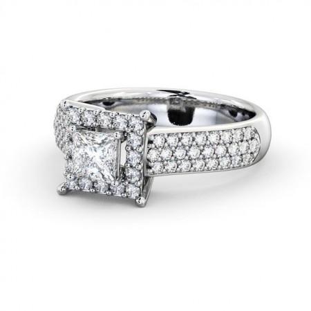Gianna (Princess) แหวนหมั้น แหวนเพชรแท้