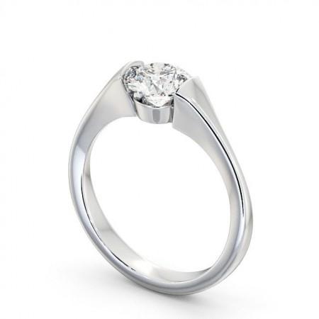 Skylar แหวนแต่งงาน แหวนเพชรเม็ดเดี่ยว
