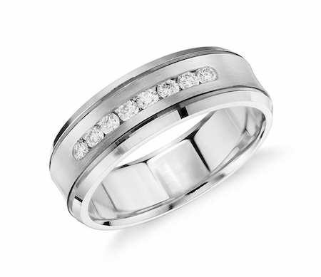 Jackson แหวนเพชรผู้ชาย แหวนแต่งงานผู้ชาย