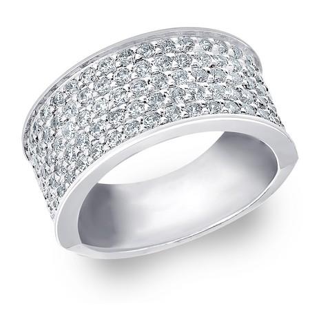 Elijah แหวนเพชรผู้ชาย แหวนแต่งงานผู้ชาย