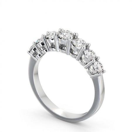 Noelle แหวนเพชรแถว 7 เม็ด แบบแหวนเพชรสวยๆ