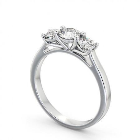 Marley แหวนเพชรแถว 3 เม็ด แบบแหวนเพชรสวยๆ