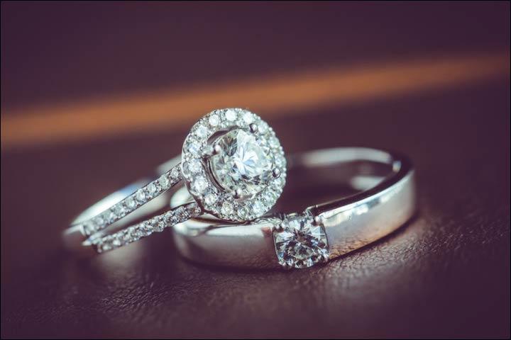 22 แหวนคู่แต่งงาน แหวนเพชรคู่ สุดหรูสำหรับคู่รักปาท่องโก๋ ...