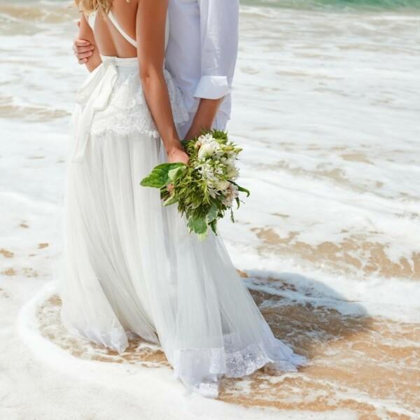 แต่งงานริมทะเล