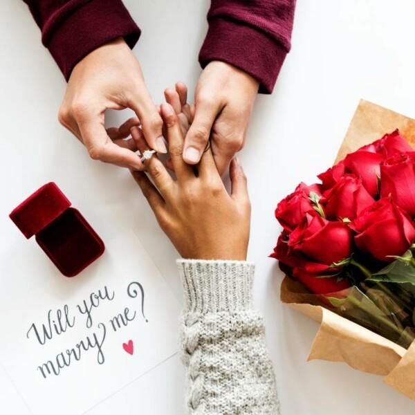 การขอแต่งงาน
