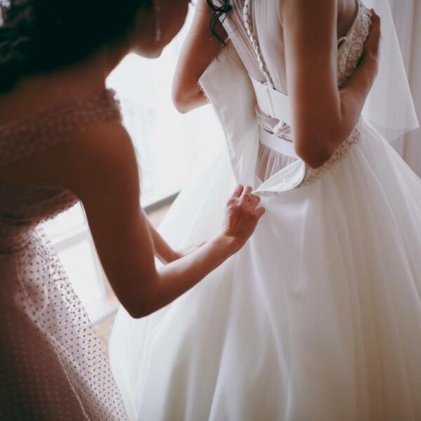 ลองใส่ชุดแต่งงาน