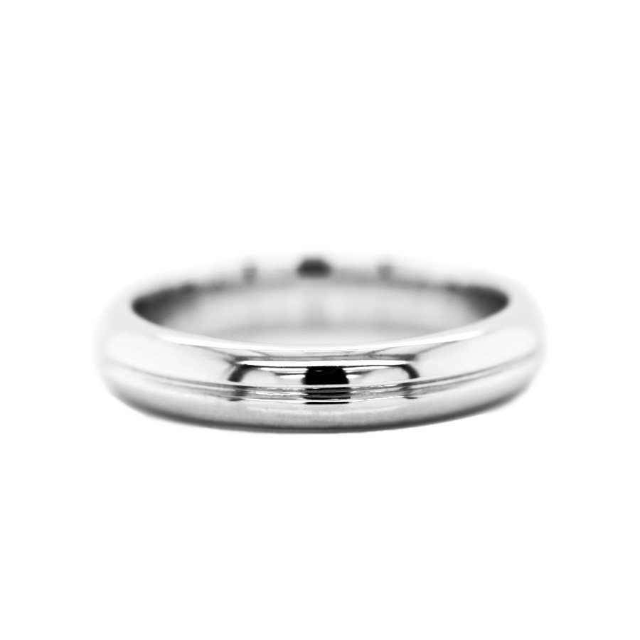 Paris Grooved 4mm Band